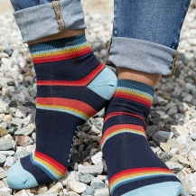 129:- ALTENMARKTE Maloja womanCotton socks with a special print