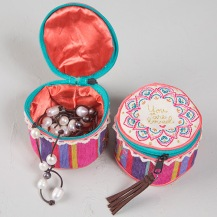 149:-You are loved Jewelry Round Cute little zip around jewelry round is perfect for holding jewelry or your favorite little things!