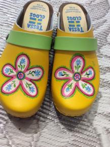 Yellow Greta Clogs