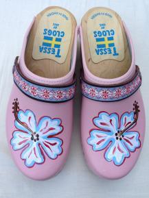 Pink Norea Clogs