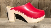 Red Ultimate High Clogs