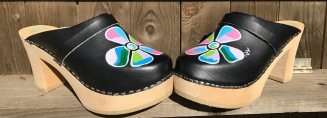 Black Becky Ultimate High Clogs