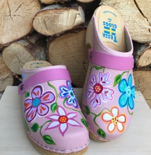 Pink Christy Clogs