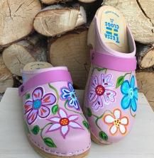 Pink Christy Clogs