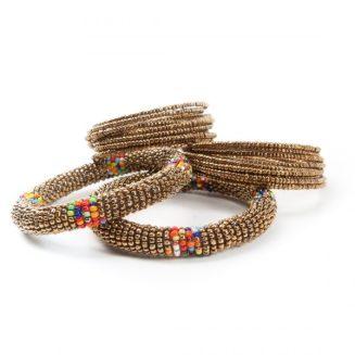 Massai armband guld 189:-