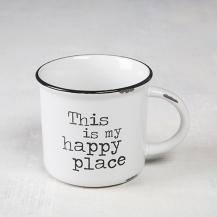 150:- Happy Place Camp Mug Dishwasher and microwave safe. Ceramic