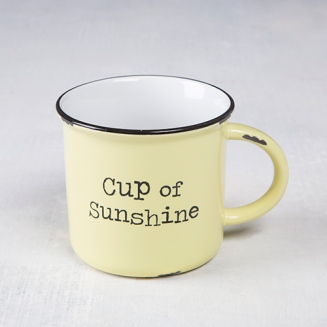 150:- Cup of Sunshine Camp Mug Dishwasher and microwave safe. Ceramic