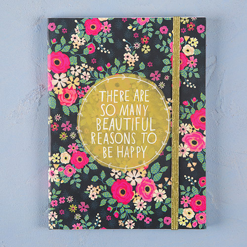 129:-So Many Reasons to Be Happy Journal