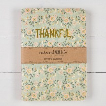 99:- Thankful Grateful Set of 2 Journals