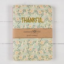 99:- Thankful Grateful Set of 2 Journals