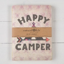 99:- Happy Camper Set of 2 Journals