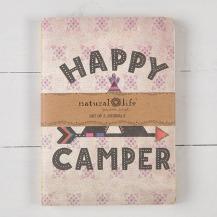 99:- Happy Camper Set of 2 Journals