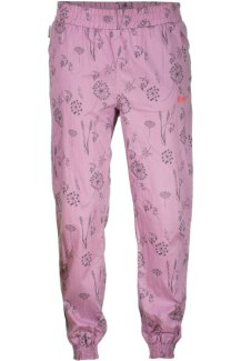 995:- OBERAUDORFS. Pants Lavender Maloja WomanPants with special print Details: - elastic waistband - 2 front pockets - 2 back pockets - elastic leg ends Cotton Printed 100% Cotton Size: S M & L