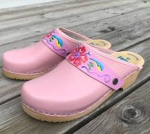 Pink Kurbits Strap Clogs
