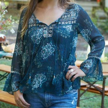 Turquoise Eve Top size: S M & L 599:-