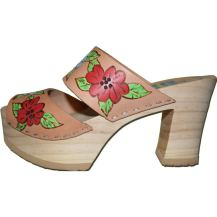 Nature Tessa Flower Ultimate High Clogs