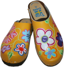 Yellow Christy Clogs