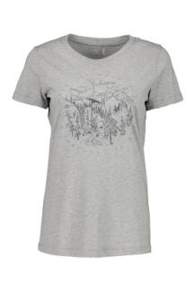 349:- RICCARDAM Grey melange T-shirt 100% cotton size: S M L