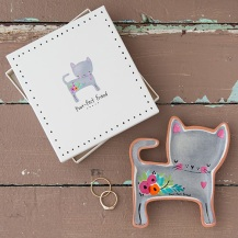 149:- Cat Purr-fect Friend Sante Fe Dish