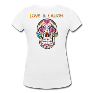 399:- LOVE&LAUGH Tee size: S, M, L & XL (back)