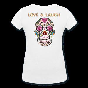 399:- LOVE&LAUGH Tee size: S, M, L & XL (back)