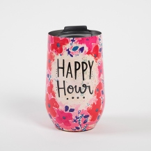 299:- Happy Hour Wine Tumbler