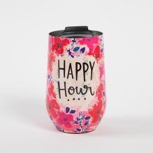 299:- Happy Hour Wine Tumbler