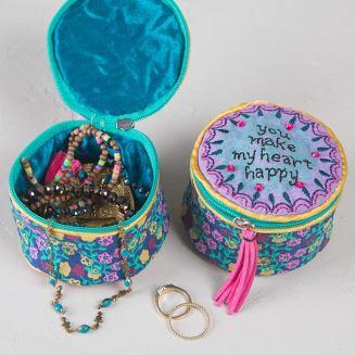 149:-You Make My Heart Happy Jewelry Round