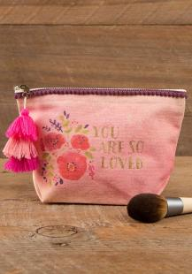 199:- You Are So Loved Canvas Pouch