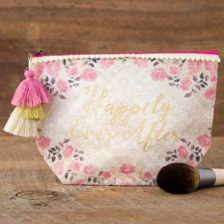 199:-Canvas Pouch Happily Ever After