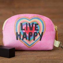 149:-Live Happy Vegan Mini Pouch
