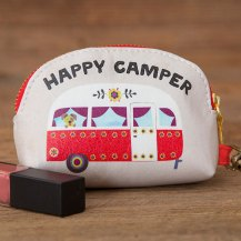 149:-Happy Camper Vegan Mini Pouch