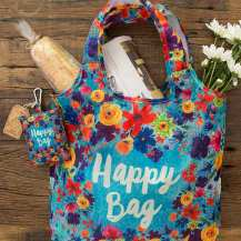 159:-Happy Bag Fold-Up Shopping Bag