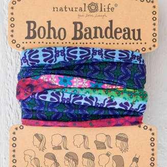 149:-Mixed Print Boho Bandeau