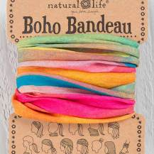 149:-Hot Pink Rainbow Boho Bandeau