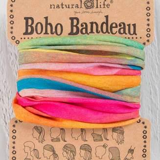 149:-Hot Pink Rainbow Boho Bandeau