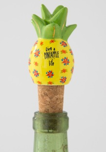 125:-Live A Pineapple Life Bottle Stopper