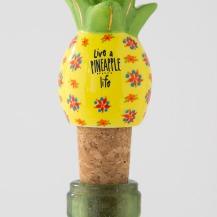 125:-Live A Pineapple Life Bottle Stopper