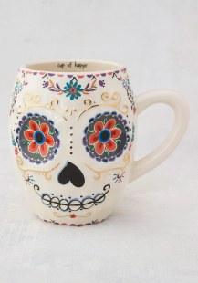 150:-Sugar Skull Folk Mug