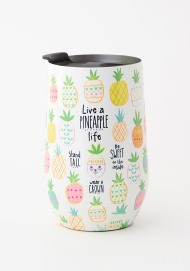 299:-Live a pineapple life Tumbler