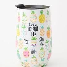299:-Live a pineapple life Tumbler
