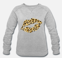 699:- LIVE HAPPY Lips Sweater Storlek S M L XL100% organic cotton