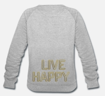 499:- (699:-) LIVE HAPPY Lips Sweater Storlek S M L XL100% organic cotton