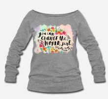 699:- Change the World Sweater Storlek S M L XL100% cotton