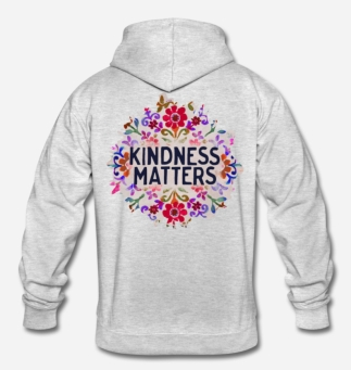 699:- Kindness matters Hoddie Storlek S M L XL100% cotton