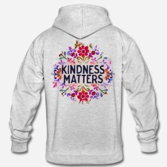 699:- Kindness matters Hoddie Storlek S M L XL100% cotton