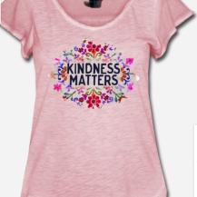 449:- Kindness Matters Tee size: S, M, L & XL