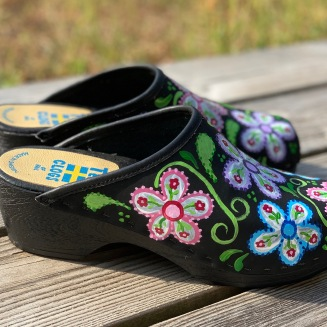 Flowerpower Soft clogs