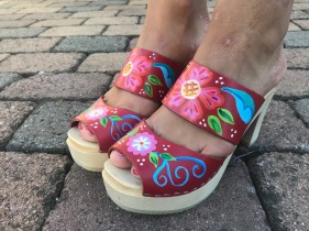 Red Emma Ultimate High clogs