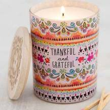 299:- Soy candles Thankful